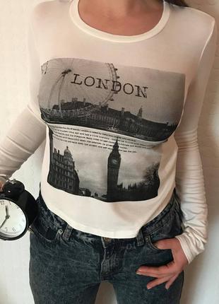 Кофта 'london' з довгим рукавом від forever 21