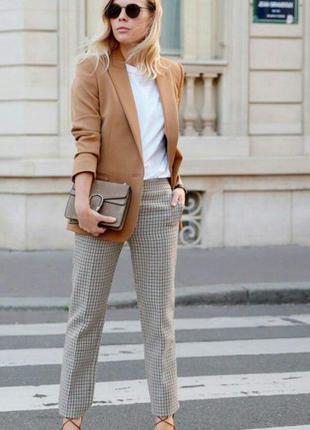 Терракотовый приталенный жакет,пиджак