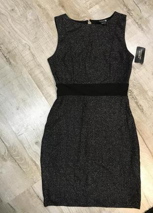 Платье forever 21 чёрное