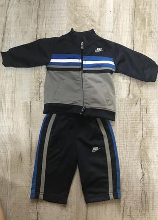 Продам костюм спортивный nike 6-9 месяцев