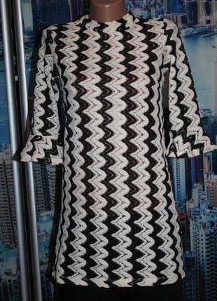 Блуза туника кружево