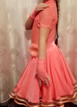 Платье бейсик для бальных танцев.
