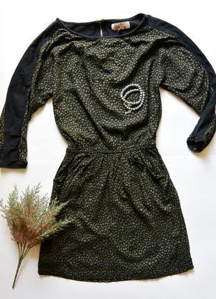 Стильное короткое платье
