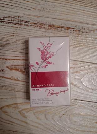 Туалетная вода духи armand basi in red blooming bouquet оригинал!!!