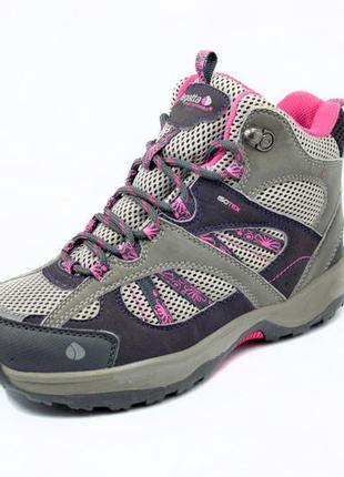 Трекинговые ботинки regatta cambrian mid isotex. стелька 21, 5 см