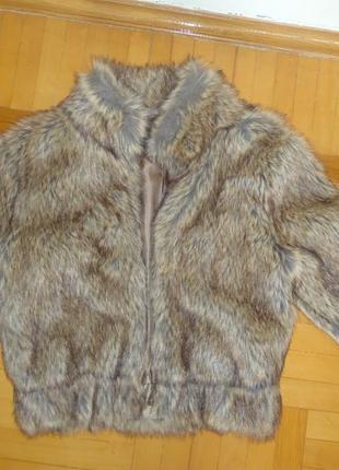 Шуба basic wear by stradivarius