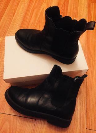 Осенние ботинки (натуральная кожа)