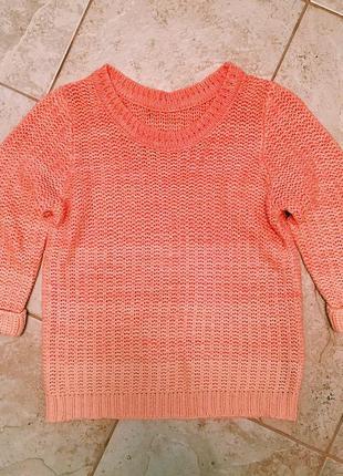 Милый персиковый свитер atmosphere2
