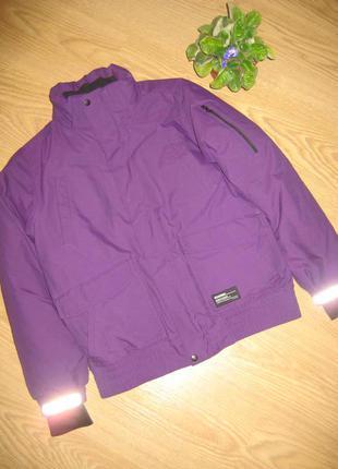 Теплющая зимняя куртка 10-12 лет