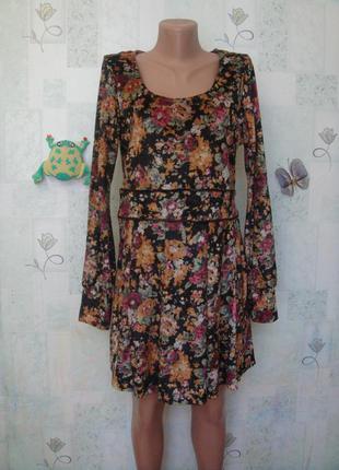 Чёрная пятница трендовое велюровое/бархатное платье с длинным рукавом  48-50 рр