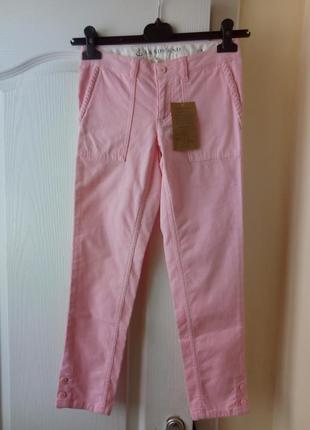 Зефирные вельветовые штаны на девочку 7-8 лет, 128-134см land's end