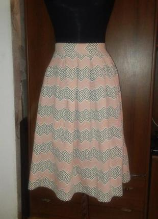 Красивейшая юбка миди topshop