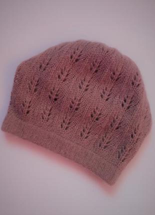 Вязанная шапка берет accessorize