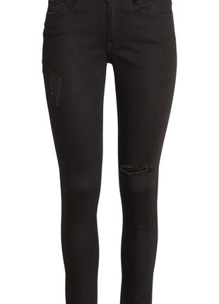 Super skinny джинсы h&m размер 36