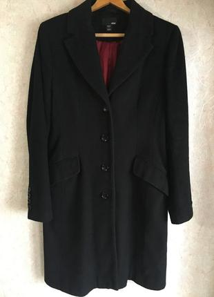 Классическое шерстяное пальто