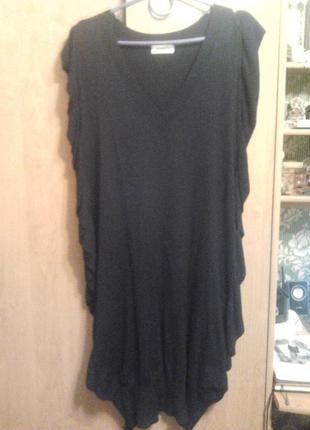 Очень классное и необычное платье!большого размера!