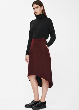 Шерстяная юбка cos новая 34 размер