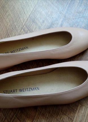 Балетки туфли на низком каблуке