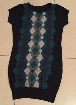 Платье туника кофта свитер