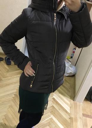 Крутая деми куртка курточка франция