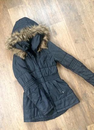 Пальто куртка с капюшоном only