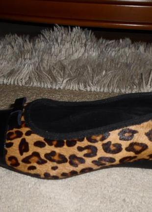 Качество от clarks.роскошные бренд.туфли,мех пони,кожа,англия