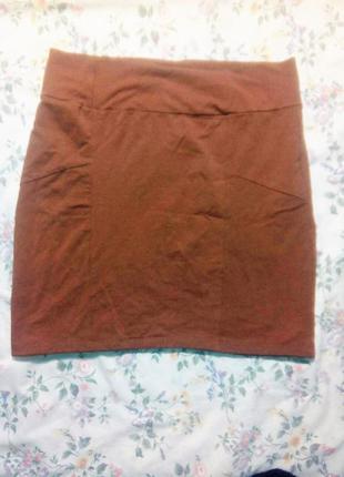 Базовая юбка средней длинны