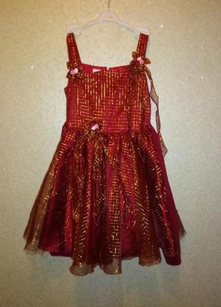 Нарядное вечернее платье для девочки