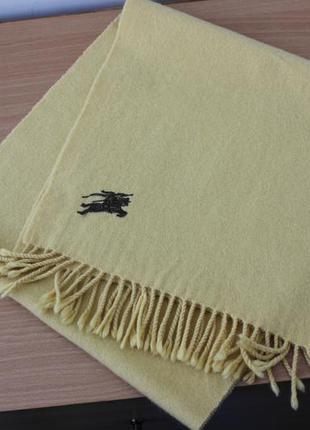 Брендовый шарф из кашемира
