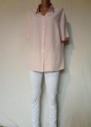 Блуза,рубашка на короткий рукав