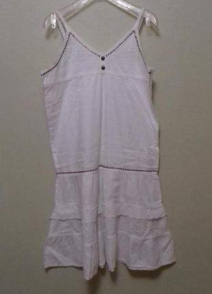 Платье сарафан батистовый подростковый,  на рост 152-164