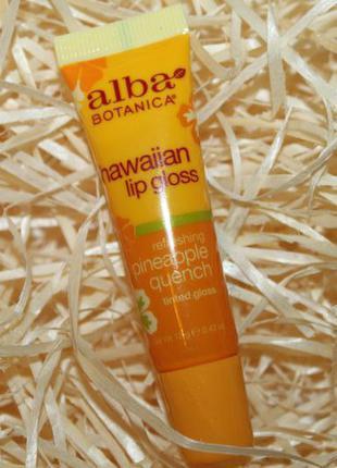 Hawaiian lip balm шикарный гавайский бальзам для губ с ананасом