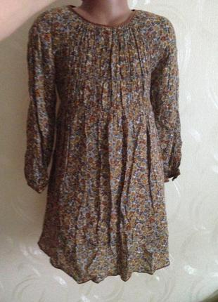 Платье zara girls 5-6 лет, 118 см