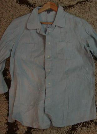 Рубашка, блуза , лен  gap