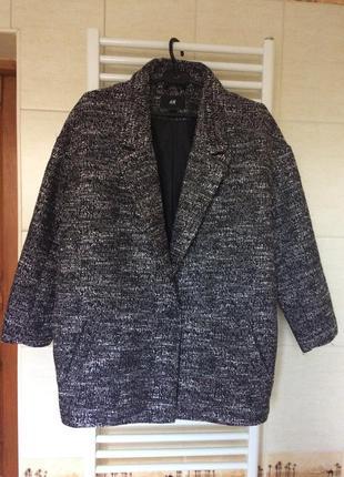 Пальто oversize h@m размер 40