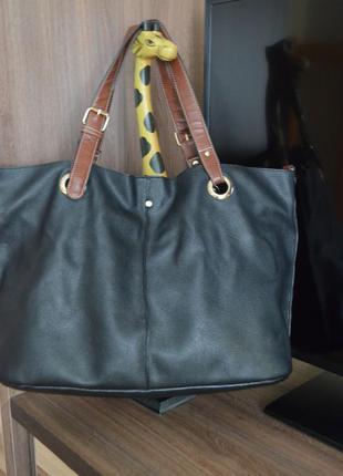 Кожаная сумка parfois