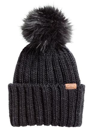 Тёплая шапка н&м