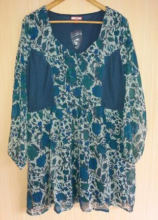 Платье туника 52 размера