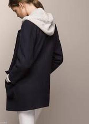 Пальто massimo dutti шерсть