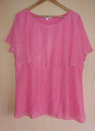 Яркая нарядная блузка 56 размера