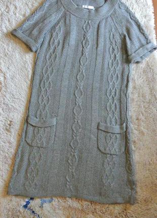 1+1=3 вязанное платье