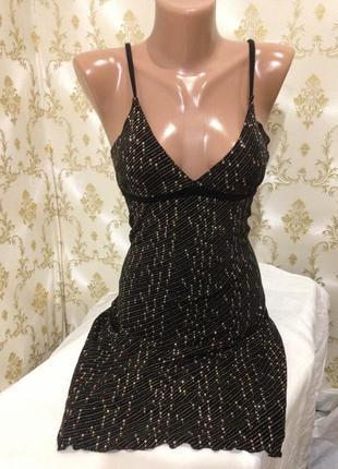 Вечернее блестящее платье
