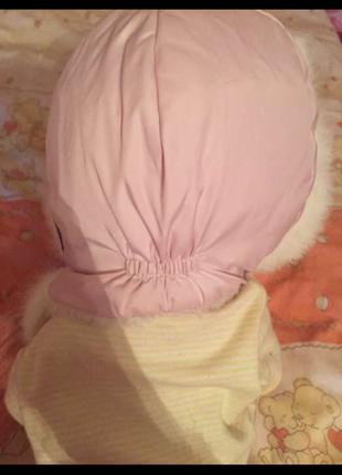 Комбинезон доя девочки и шапка в подарок