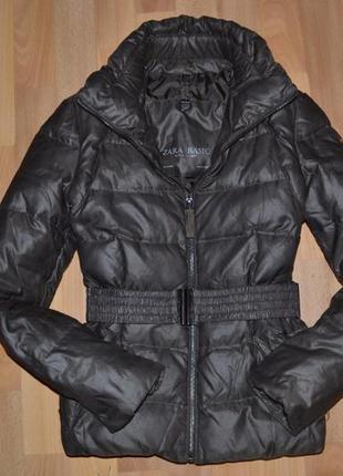 Zara женская куртка пуховик