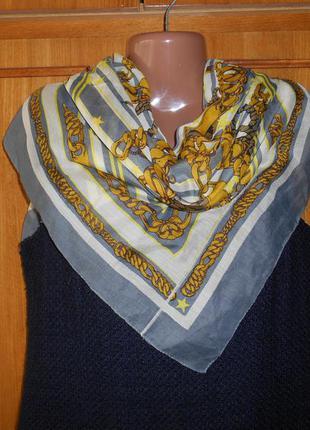 Платок шарф pieces accessories 95*97