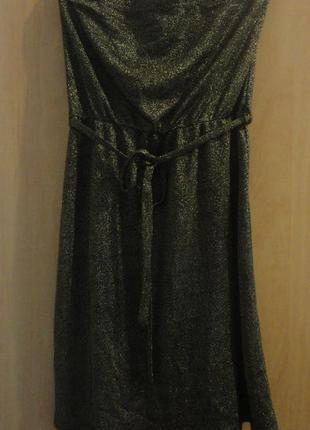 Супер брендовое платье бюстье