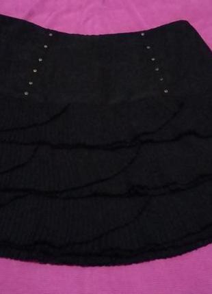 Черная юбка marks&spencer
