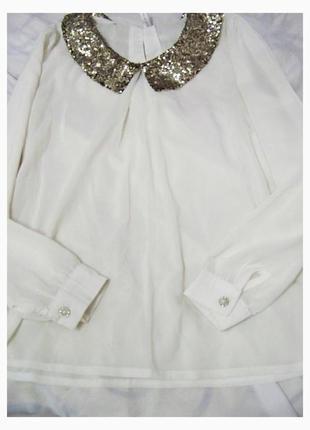 Блуза з паетками