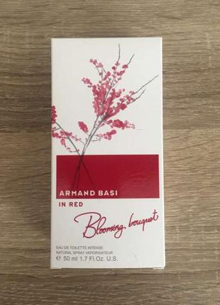 Armand basi in red blooming bouquet 50 ml.