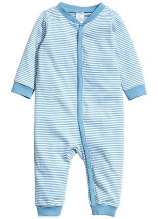 Пижама человечек h&m 68см бодик